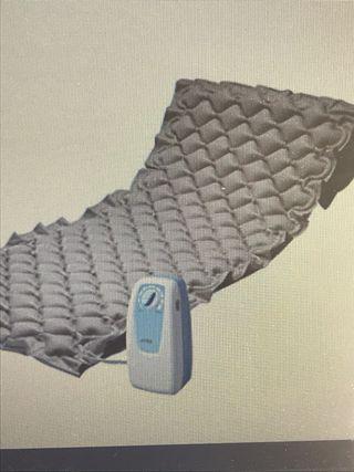 Colchón antiescaras de aire compresor regulable
