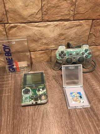 Donkey kong // Gameboy pocket// mando playstation
