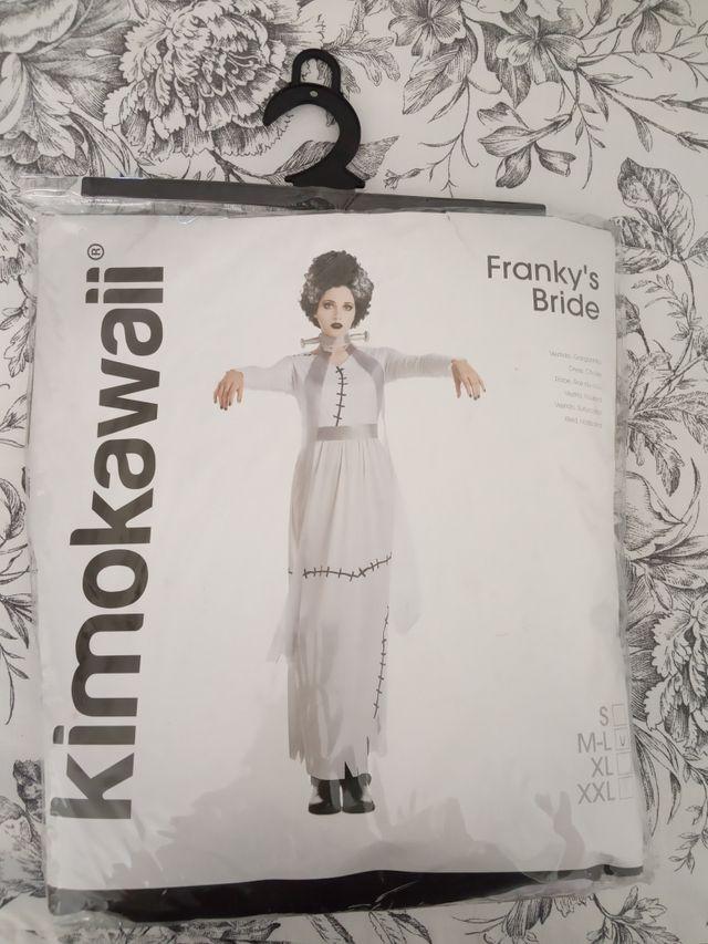disfraz novia Frankenstein