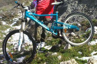 Bicicleta Descenso Rockrider Downhill Montaña