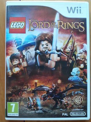 Juegos Wii (LEGO El Señor De Los Anillos)