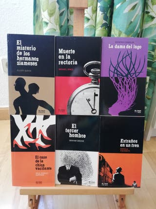 libros novela negra