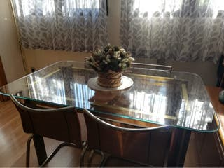 Mesas comedor + 6 sillas