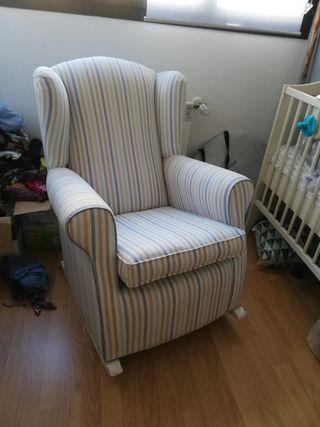 sillón mecedora