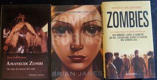tres títulos de temática zombi