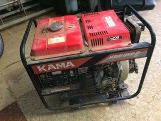 motor de luz de Gasoi i bateria