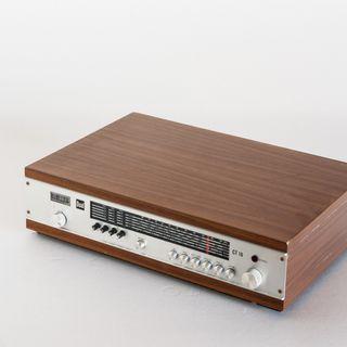 Receptor de radio multibanda Dual. Teca. 70's