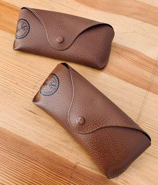 Fundas gafas Ray-Ban marrón