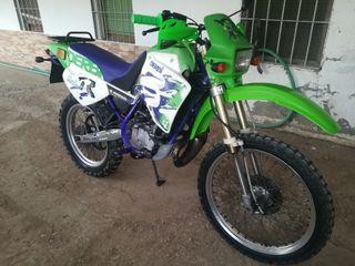 Ciclomotor, Derbi Senda, 49, de serie.Pitbike