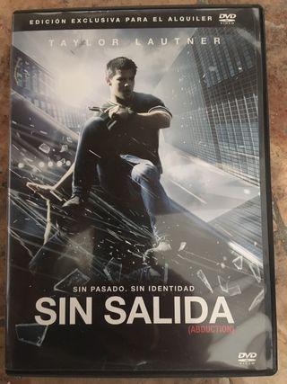 Sin salida dvd