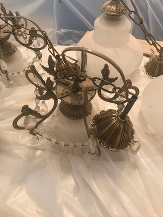Lámparas vintage pequeñas