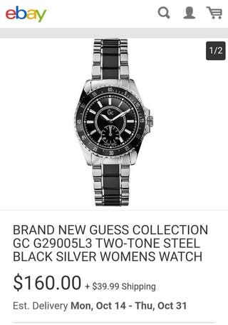 Guess collection. Auténtico Swiss made.