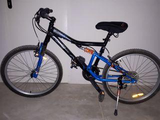 Bicicleta full suspension 24 pulgadas