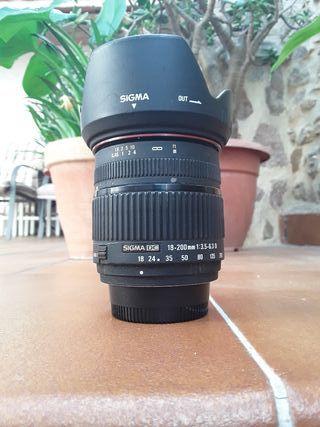 Sigma AF 18-200 -Nikon AF