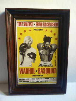 Cuadro Warhol Basquiat