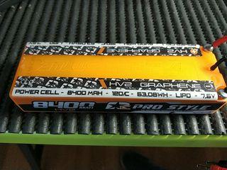 Bateria LiPo 8400 HV2 Graphene