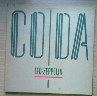 Disco de vinilo Led Zeppelin CODA --- USA 82