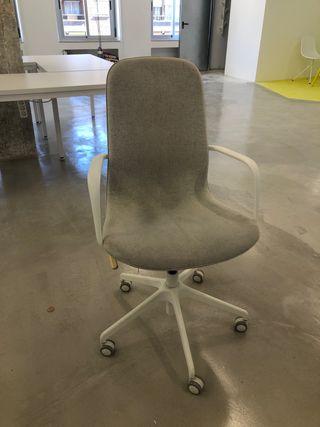 Silla escritorio Ikea con brazos