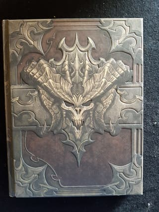 "Diablo 3 book of Cain ""tapa dura"""