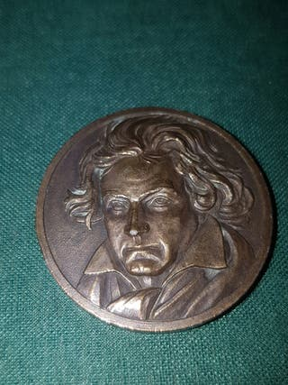 medalla beethoven bronce