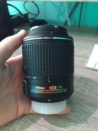 ALQUILER Nikon 55-200 f4.1-5.6 Gii ED VR