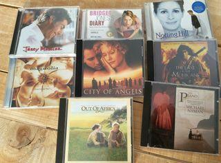 CD's bandas sonoras