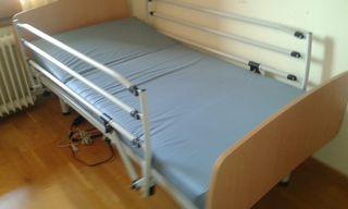 Cama y colchón hospitalario 90*190
