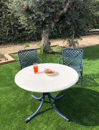 Mesa para jardín de segunda mano en la provincia de Zaragoza