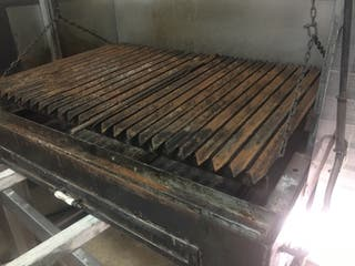 Barbacoa carbón