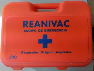 Maleta de reanimación sin aspiración- reanivac I