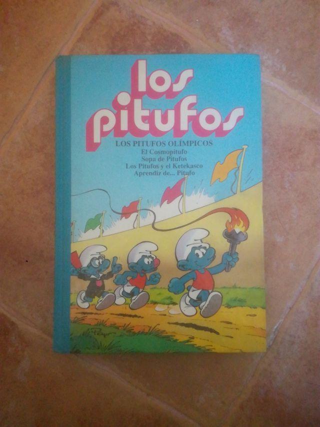 Libro cómic Los Pitufos Olímpicos