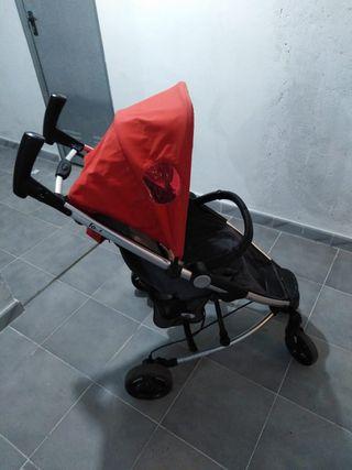 silla paseo roja.