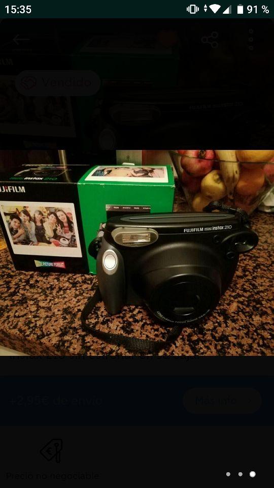 Instax 210 cámara instantánea