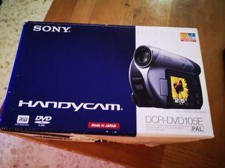 cámara de video Sony Handycam Dcr-Dvd105E