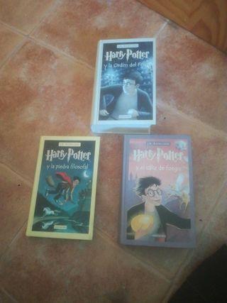 Harry Potter 1, 4 y 5
