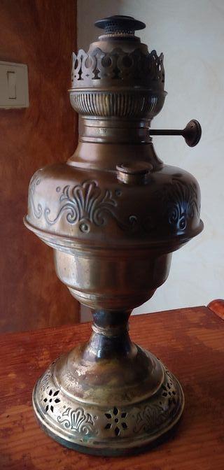 Antigua Lámpara Quinque del año 1880.