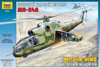 maqueta Hind 1:72 helicóptero