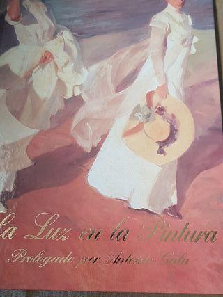 libro La Luz en la pintura prologado por Antonio