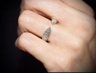 Anillo diamantes oro 18k claw