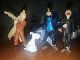 figuras personajes Tintín
