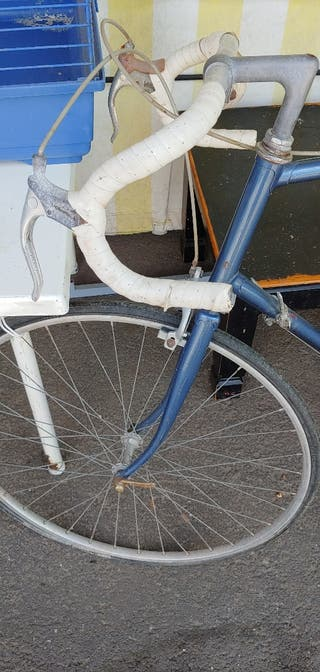 Antigua bicleta de carreras
