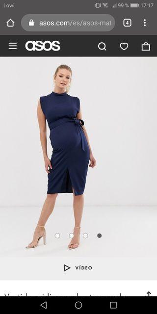 Vestido Premama-Embarazada talla 40