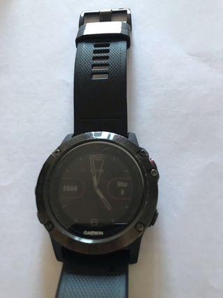 Reloj Garmin Fenix 5X zafiro