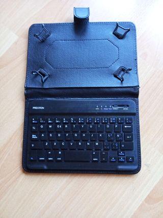 Funda + teclado PRIXTON