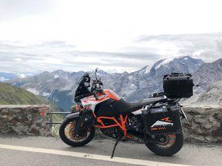 Ktm super adventure 1290 maletas