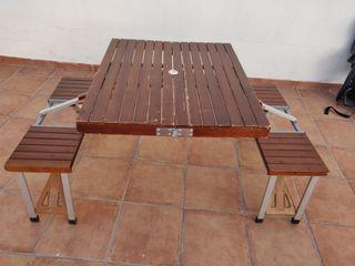 mesa de camping