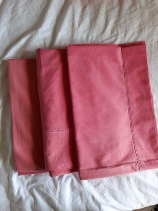 Funda nórdica, bajera, funda almohada y cuadrante