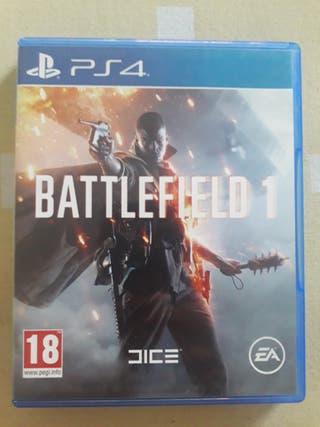 Battlefield 1 Ps4 Estado 10/10