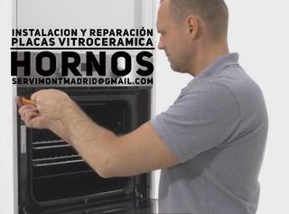 Venta instalacion de hornos y vitroceramicas