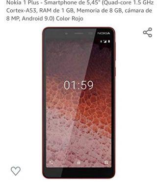 móvil Nokia 1 plus